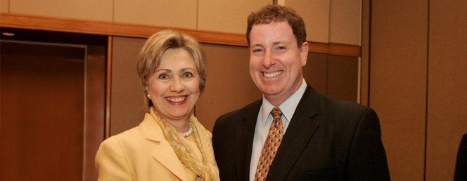 Kevin with Hilary Clinton slide 1